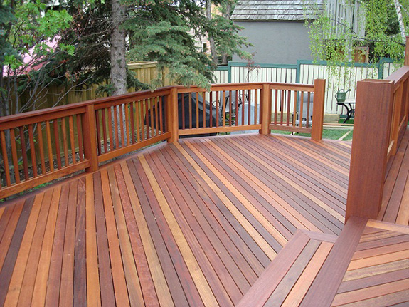 Wood Decking Feuer Lumber