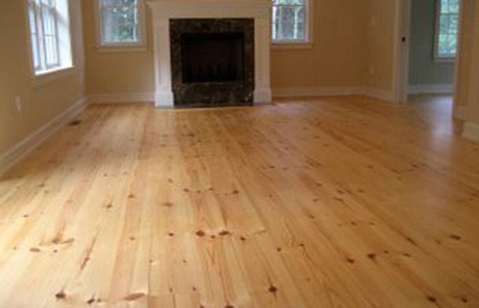 Red Pine Flooring Feuer Lumber