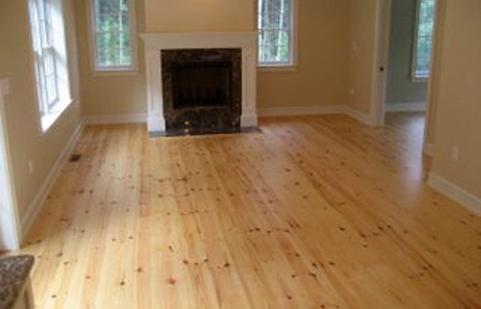 Red Pine Flooring Feuer Lumber